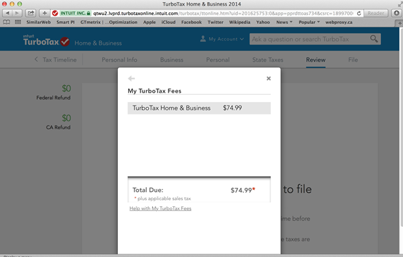 turbotax discount not applied - screenshot 5