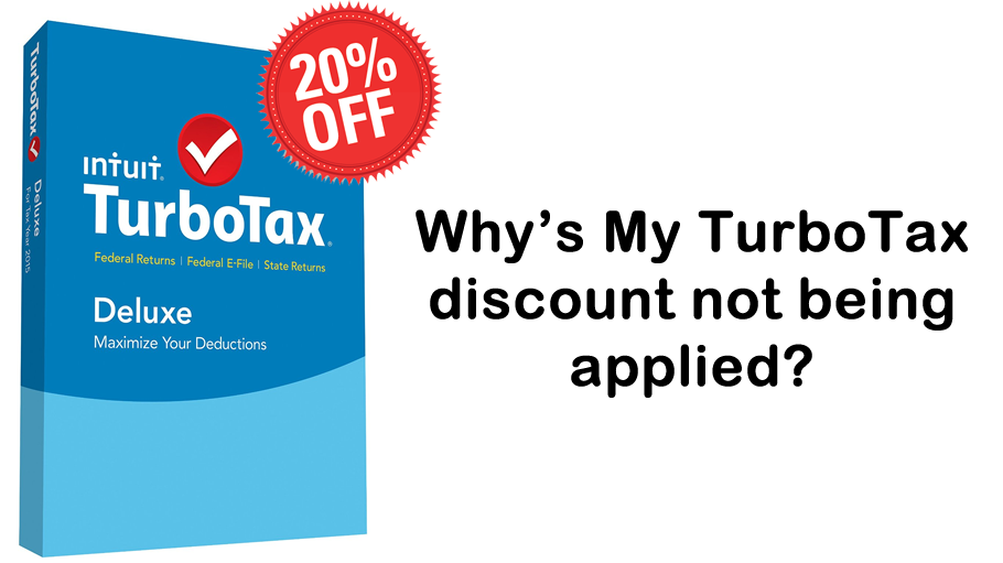 turbotax discount not applied