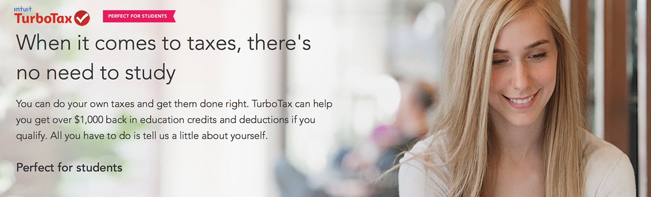 turbotax student discount 2020