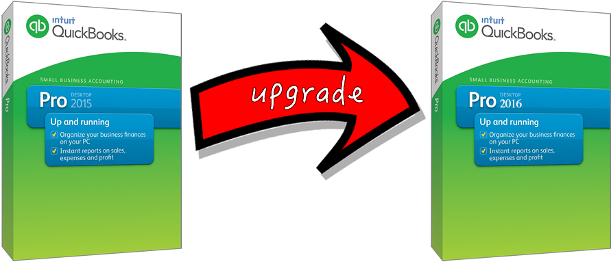 Quickbooks 2016 upgrade
