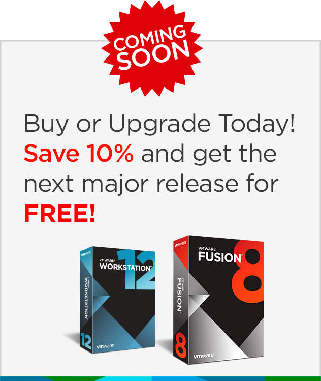 free upgrade to vmware fusion 8