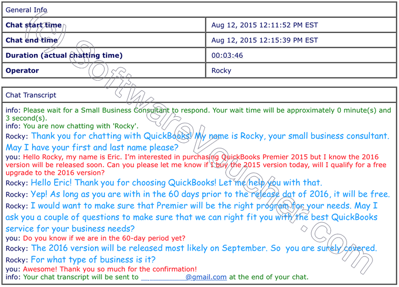 quickbooks 2016 free upgrade transcript chat