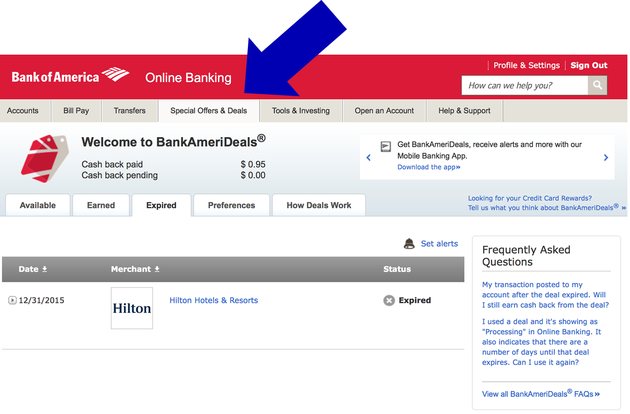 turbotax bank of america discount offer