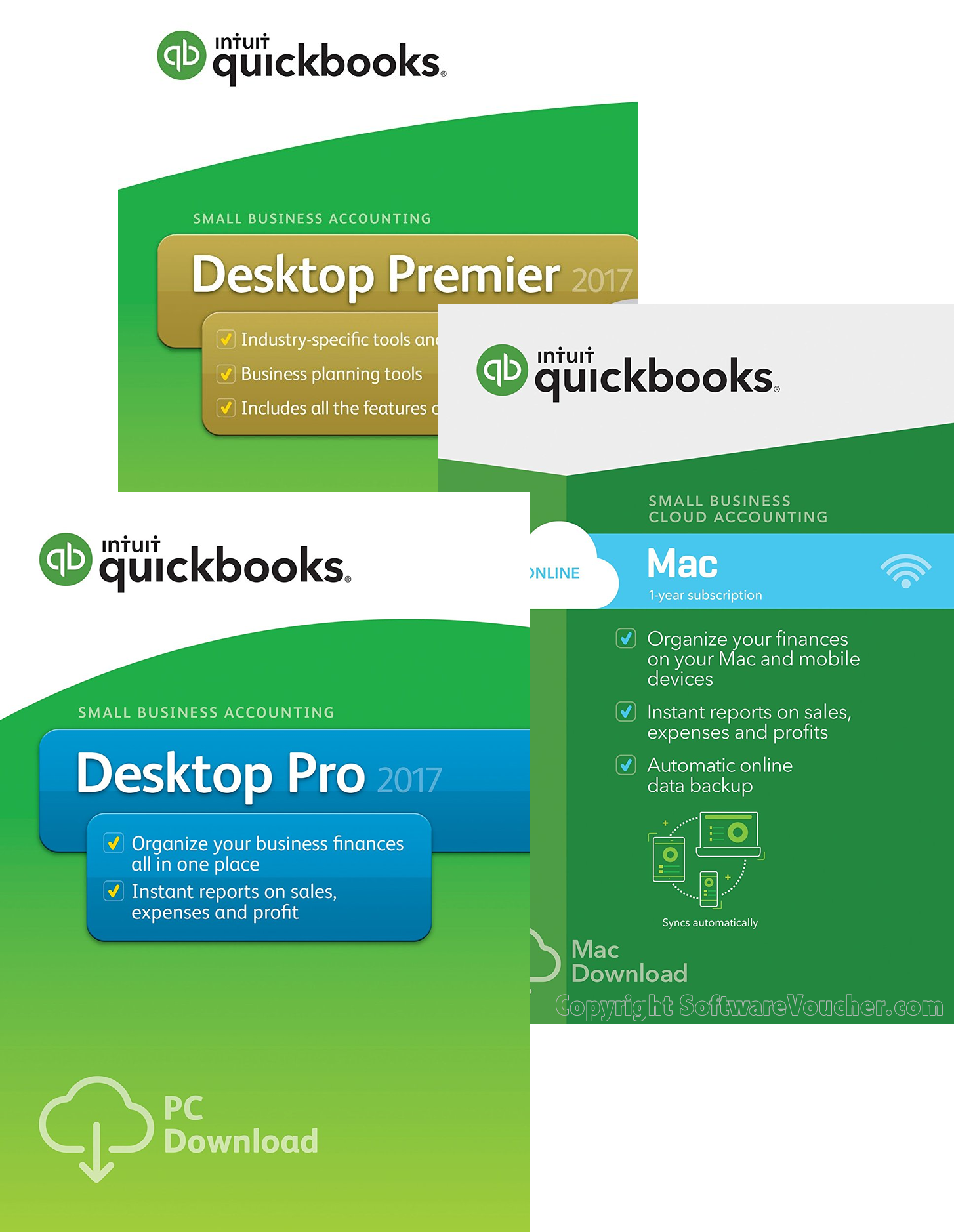 quickbooks 2017 desktop editions