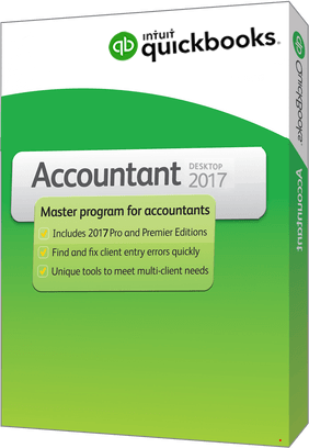 quickbooks desktop accountant 2017