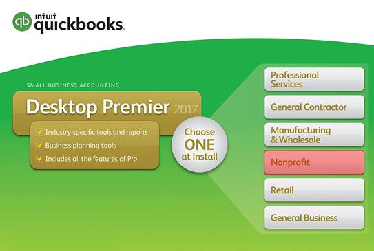 quickbooks nonprofit 2017