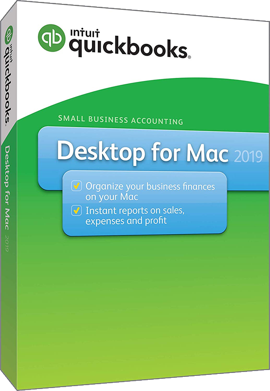 Intuit QuickBooks Desktop for MAC 2019 Newest Full Retail Box, Mac Disc